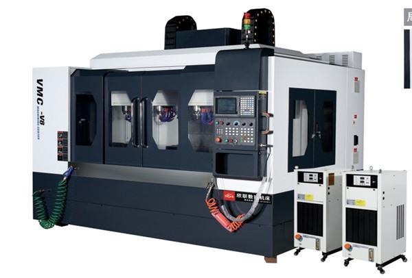 VMC-V8高速八轴立式加工雕铣机